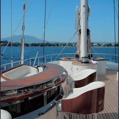 Parsifal III Yacht Exterior Bar
