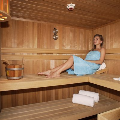 Moonlight II Yacht Sauna