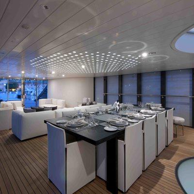 Ocean Pearl Yacht Dining Salon