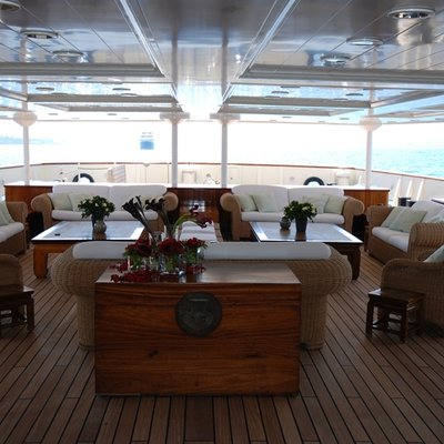 Bleu De Nimes Yacht Aft Deck - Seating
