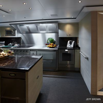 Twizzle Yacht Galley