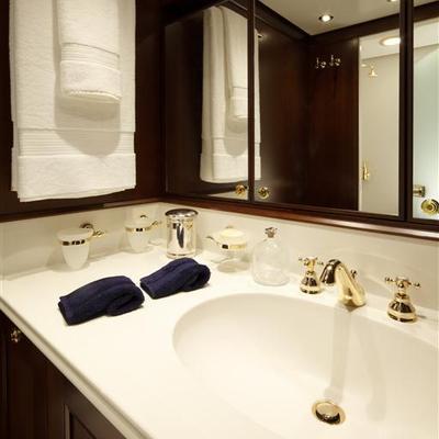Axantha II Yacht Bathroom - Detail