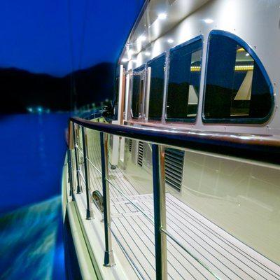 Daima Yacht Exterior Side