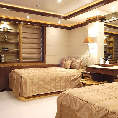 Sea Walk Yacht Twin Stateroom - Neutral