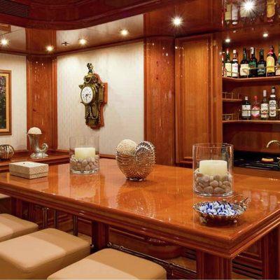 Sokar Yacht Main Salon Bar