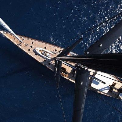 Marie Yacht Overhead