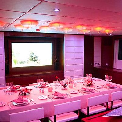 Annamia Yacht Dining Salon - Lights