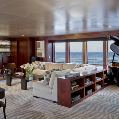 Cyan Yacht Upper Saloon