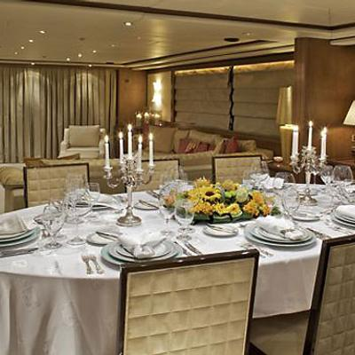 Lady Ellen Yacht Formal Dining