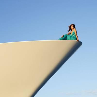 Lady Sheridan Yacht Bow - Close