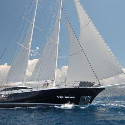 Ubi Bene Yacht Side View