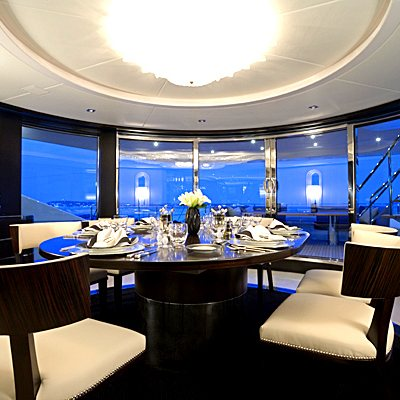 G Force Yacht Dining