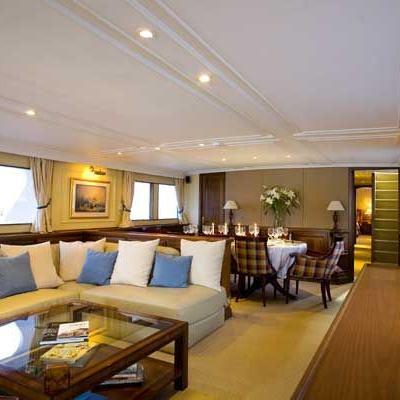 Osprey Yacht Main Salon Overview