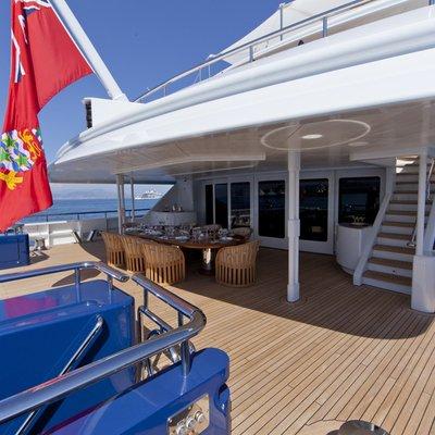 Sarah Yacht Main deck aft