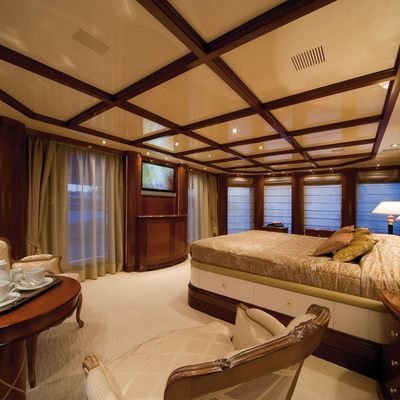 O'Ceanos Yacht Guest Stateroom - Screen