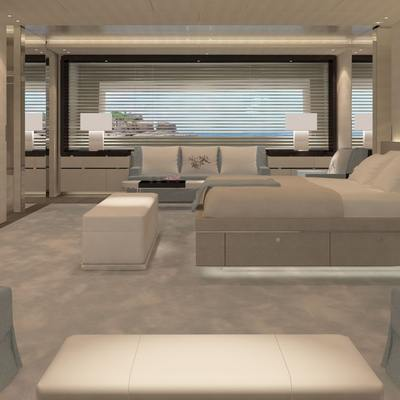 Nautilus Yacht A Rendering Of The Main Suite