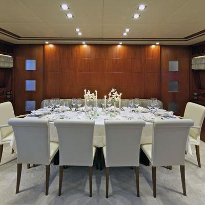 Marnaya Yacht Dining