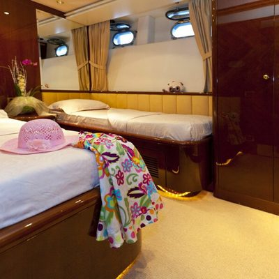 Happy Spirit Yacht Stateroom
