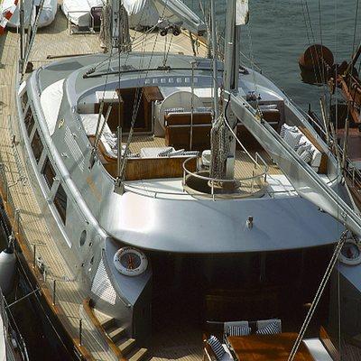 Andromeda la Dea Yacht Deck View