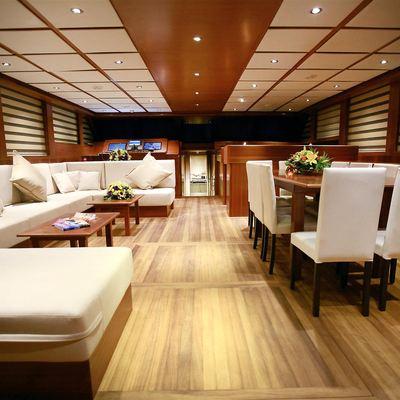 Mezcal 2 Yacht Main Salon