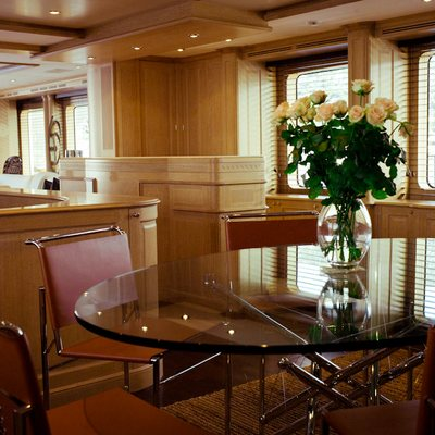 African Queen Yacht Dining Table