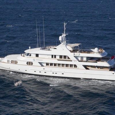 Lady Ellen II Yacht Running Shot - Profile