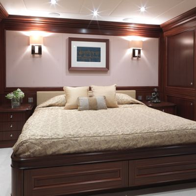My Little Violet Yacht VIP Stateroom