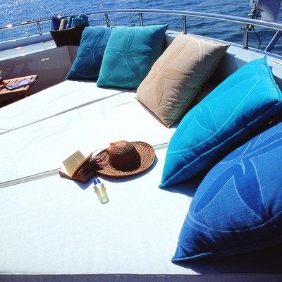 Jasmine Yacht Upper Deck Sunbathing