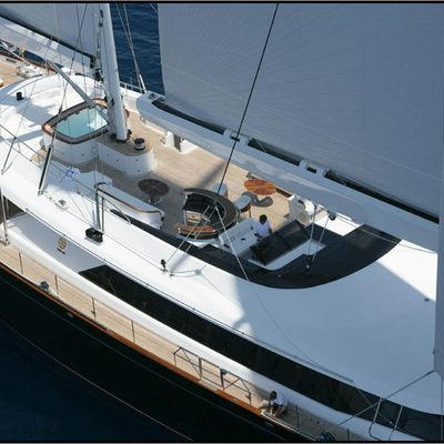 Parsifal III Yacht Aerial Deck