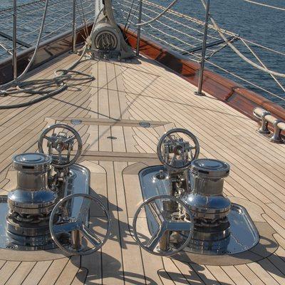 Gweilo Yacht Deck