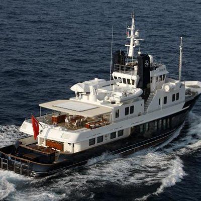 Jasmine Yacht Underway