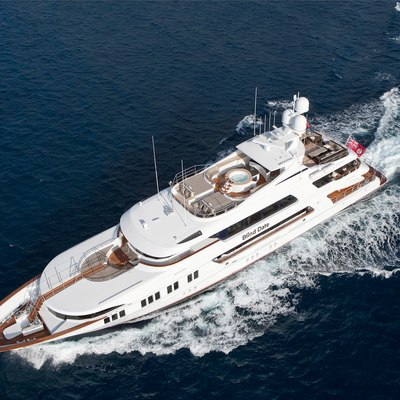 Ocean Club Yacht Running Shot - Aerial View