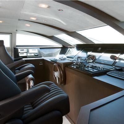 Namaste 8 Yacht Pilothouse - Seating