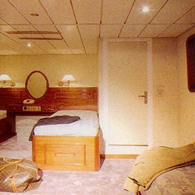 Sea Crown Yacht Stateroom