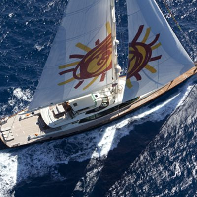 Tiara Yacht Running Shot
