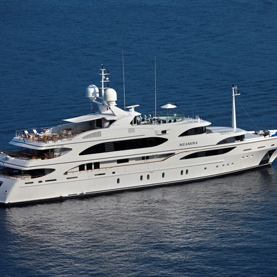 Meamina Yacht Aerial View