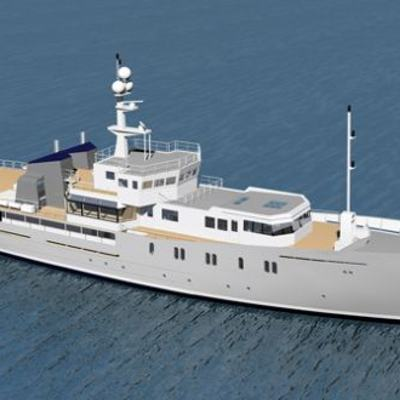 Enigma XK Yacht rendering above