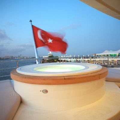 Tatiana I Yacht Jacuzzi - Night