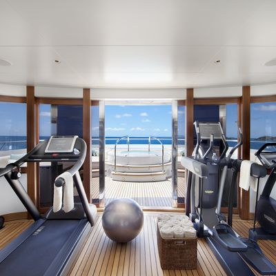 Lady Britt Yacht Panoramic Gym