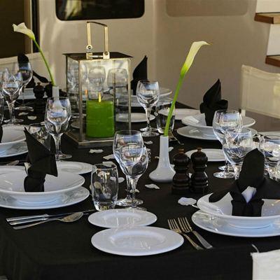 Berzinc Yacht Al fresco dining