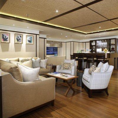 Baton Rouge Yacht Upper Salon - Side View