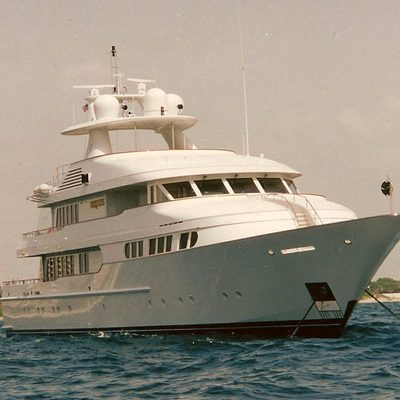 Herculina Yacht Front View