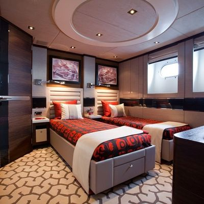 Aurelia Yacht Twin Stateroom