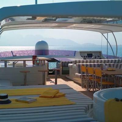 Phoenix Yacht Sunshaded Flybridge