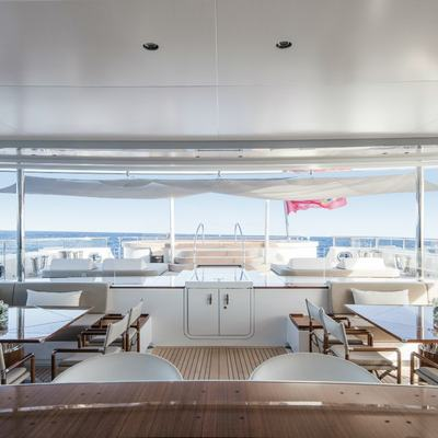 Nautilus Yacht Al Fresco Dining Options And Spacious Jacuzzi