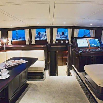 Gweilo Yacht Cockpit