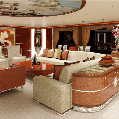 Diamonds Are Forever Yacht Lounge