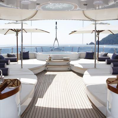 Talisman Maiton Yacht Sundeck