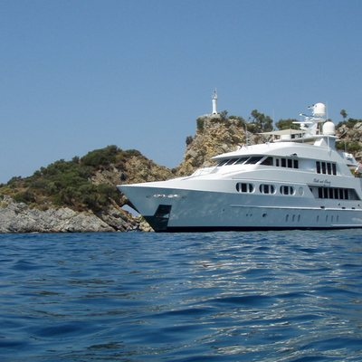 Milk and Honey Yacht Side View