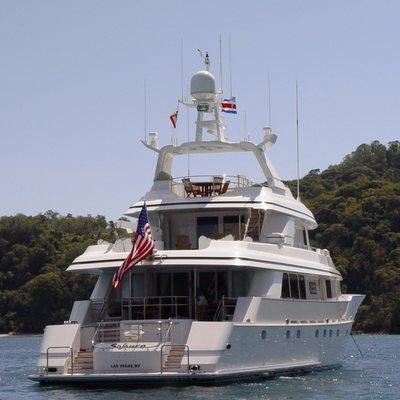 Sojourn Yacht Stern
